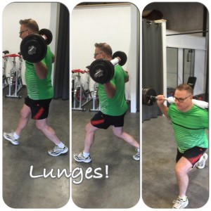 Lunges - TomFit